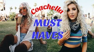 WHAT'S IN MY COACHELLA BAG | FESTIVAL ESSENTIALS