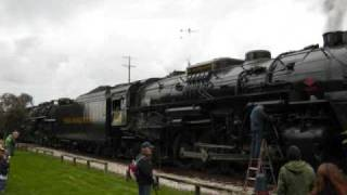 Lima's Finest - Pere Marquette 1225 and Nickel Plate 765 Doubleheader, October 3rd, 2009