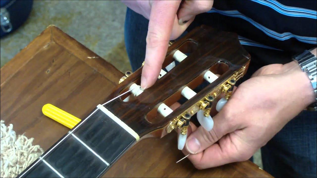 watch how to restring a classical guitar feat jason pickard