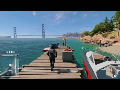 Watch Dogs 2 - Main Mission - Shanghaied - Hack Barge - 1080p