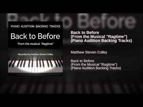 Back to Before (From the Musical