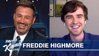 Freddie Highmore on Quarantine Beard, COVID Tests & The Good Doctor