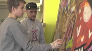 Видеоуроки: Граффити для подростков и родителей(Как сохранить хорошие отношения со своим взрослеющим ребенком? Конечно же заниматься вместе с ним чем-то..., 2016-03-26T04:43:20.000Z)