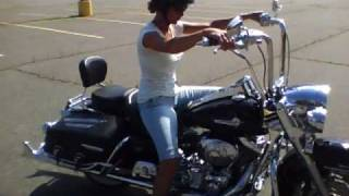 My   first ride on  ( Fat Boys) Road King.mp4