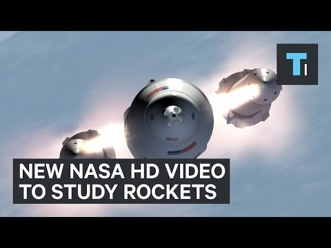 New NASA HD video to study rockets