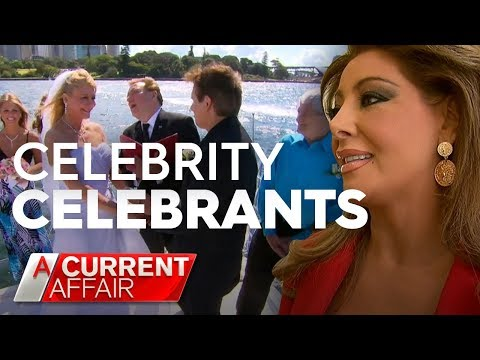 Celebrity Celebrants For That Special Day   A Current Affair