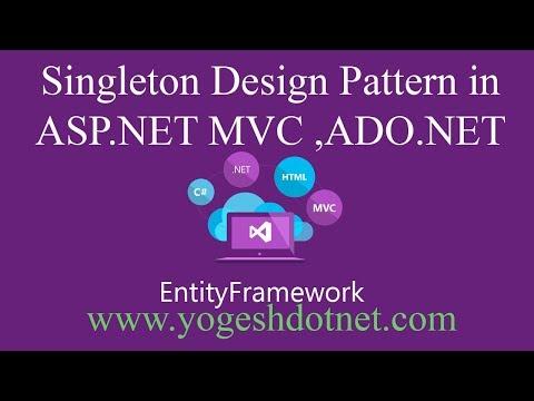 singleton design pattern in C# | Lecture 15 | Hindi