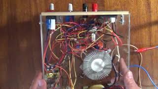 Лабораторный блок питания своими руками часть 3 компоновка. Laboratory power supply part 3 layout