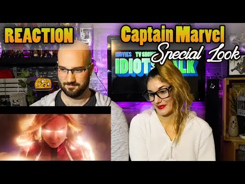 Captain Marvel Special Look - Reaction & Review - Best one yet
