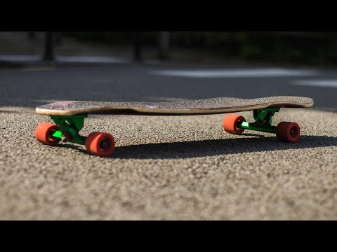 LONGBOARD REVIEW :  Mojo de Blackkross [Freeride deck] - Échappées Urbaines