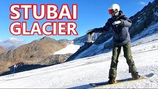 Stubai Glacier Snowboarding - Zoo Preview / New Pants / Burton Deep Thinker