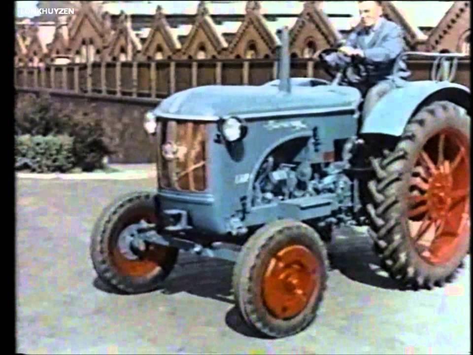 Hanomag Modelle - Werbe Film (1960)