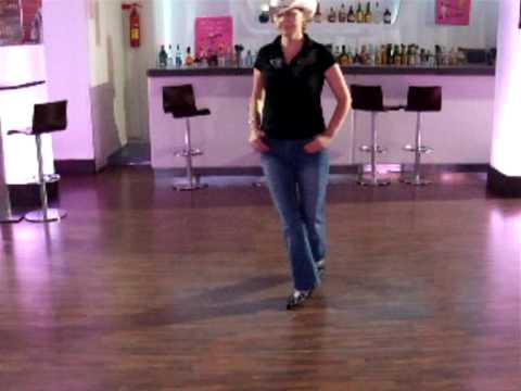 BE STRONG-country line dancer