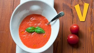 Raw Gazpacho | The Vegan Corner