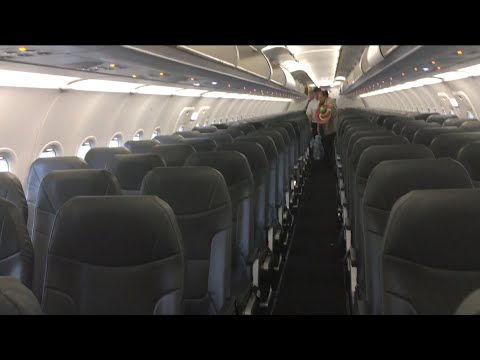 Review Of Frontier Airlines Airbus A320Neo Seating Benefits