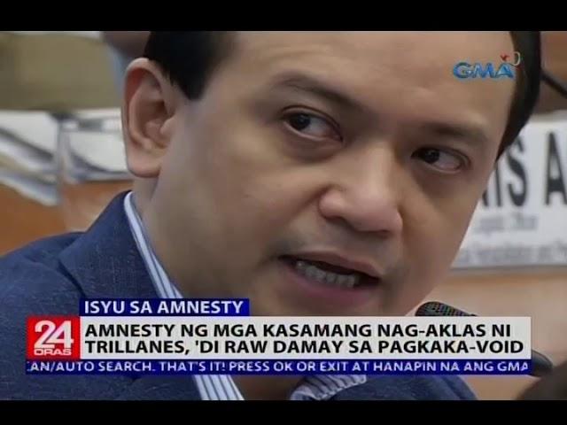 PDu30: Galing kay dating DND Sec. Gazmin at hindi kay dating Pres. Aquino ang amnesty ni  Trillanes