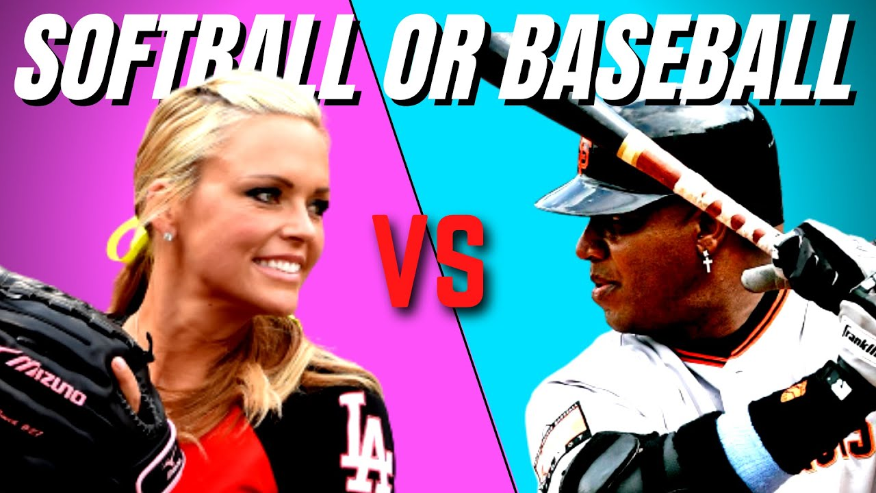 Is Softball Harder Than Baseball?