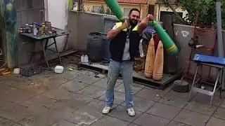 Persian meels - persian wood clubs 7.5kg - 16lb each