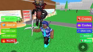 2 plr Ninja Tycoon mit Kih Glitched. (Roblox Gameplay)