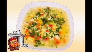 Простой и Вкусный суп с мясом и Брокколи