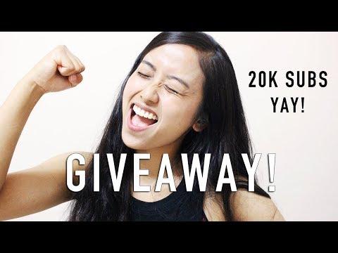 KOREAN GOODIES GIVEAWAY! | 20K SUBS!