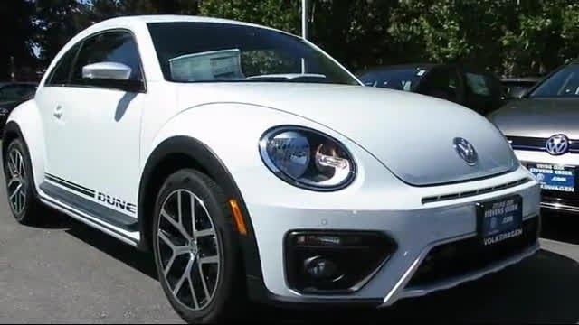 2016 Volkswagen Beetle 1.8t Dune San Jose Sunnyvale Hayward Redwood City Cupertino - YouTube