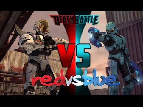 Reaction to Meta vs Carolina Red vs Blue Death Battle
