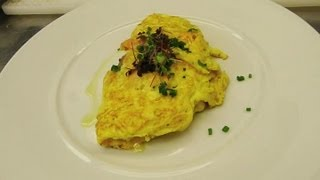 Brie & Salmon Omelette : Wholesome Flavors