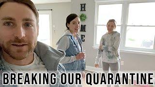 BREAKING OUR QUARANTINE // FAMILY OF 5 AT HOME VLOG // BEASTON FAMILY VIBES