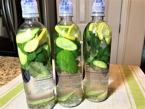 Вода №1 в мире для Похудения, Очищения, ускорения Метаболизма! Вода САССИ. Как быстро похудеть.