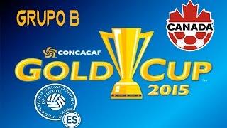 El Salvador vs Canada | simulacion | Grupo B | Copa Oro 2015