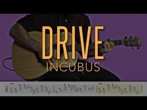 Drive -  Incubus | HD Guitar Tutorial With Tabs