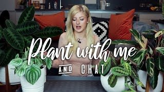 Plant with me! | Repot Houseplants with me