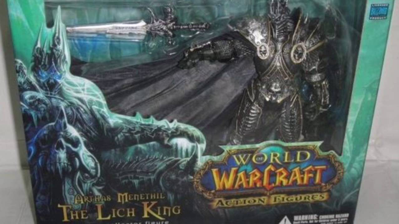 Dc Unlimited World Of Warcraft Deluxe Collector Figure The