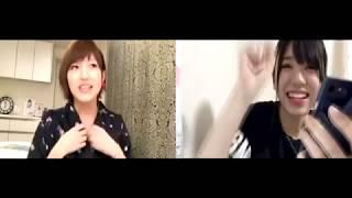 【AKB48】170619 showroom 岡田奈々x大西桃香.