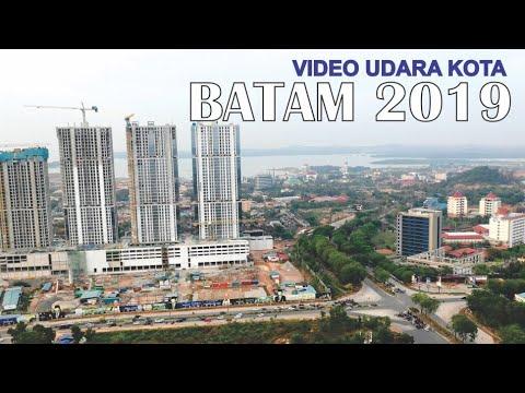 Kota Batam 2019, Video Udara Sore Hari Kota Terbesar di Provinsi Kepulauan Riau