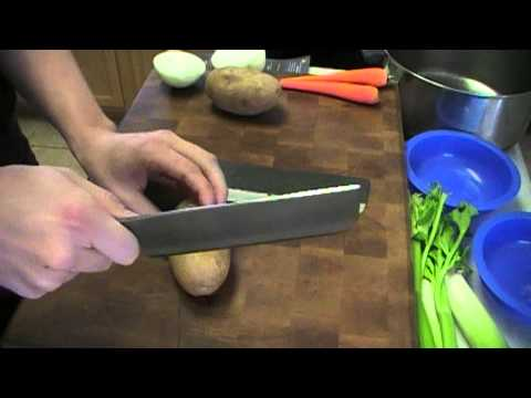 Masakage Nakiri Review 2 Knives