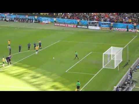 Jedinak (pk) scores for Australia (vs Netherlands) - 1x2 - 53'