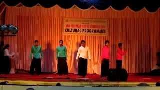 SBCE CSE 2k12-16 maa tujhe salaam  dance performance