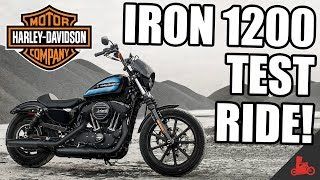 IRON 1200 Test Ride! - 2018 Harley-Davidson Sportster
