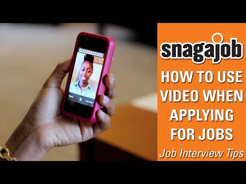 Job Interview Tips (Part 16): How To Use Video When Applying For Jobs