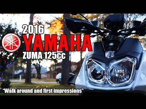2016 Yamaha Zuma 125cc Walk Around And Impressions #Zuma125 #YamahaZuma #ZumaBWS