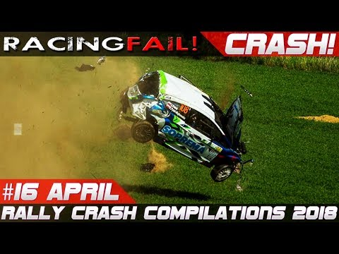 Racing and Rally Crash Compilation Week 16 April 2018 | RACINGFAIL