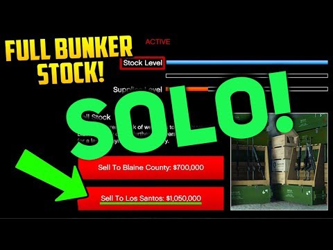 *SOLO* SELL FULL GUNRUNNING STOCK ALONE (FULL LOBBY!)
