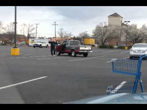 Kung Fu Grandpa In The Food Lion Parking Lot!