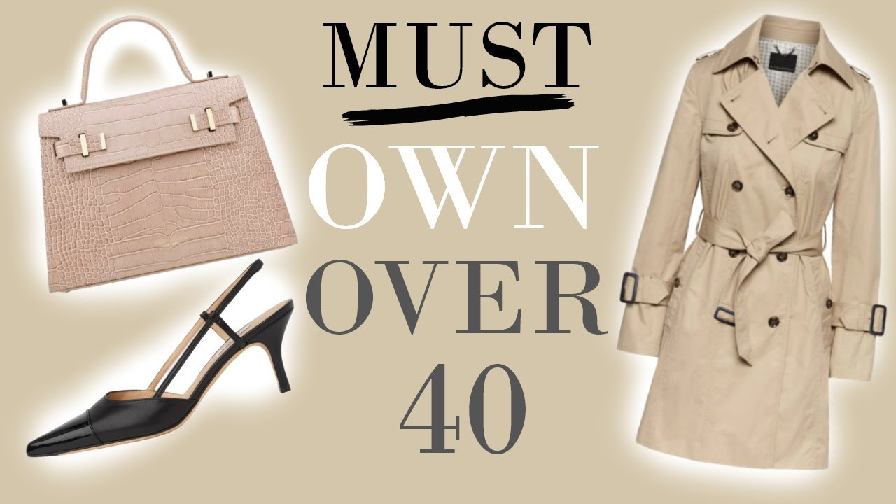 Women OVER 40 Should Own These 5 Pieces of CLOTHING to look Elegant & Sophisticated