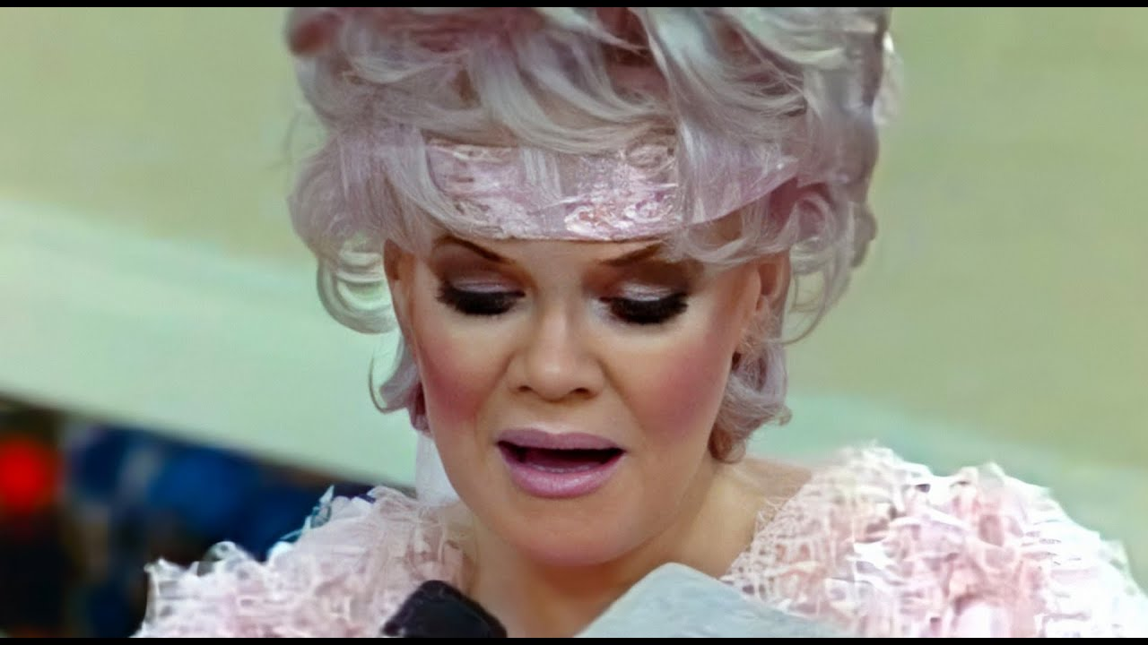 Jan crouch without wig jan crouch without her wig jan crouch goddess - Jan Crouch Jan Reads Three Letters From Tbn Viewers Youtube