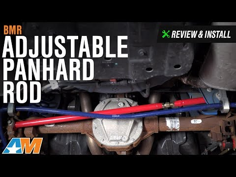 2005-2014 Mustang BMR Adjustable Panhard Rod Review & Install