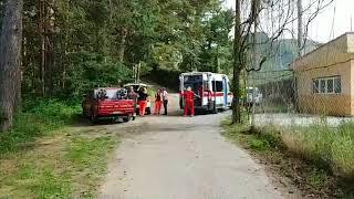 Elisoccorso per il campione di rally Andreucci