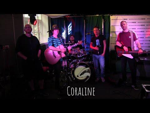 Coraline live @ BBC Introducing Lincolnshire #saboteurs #live #alternativerock